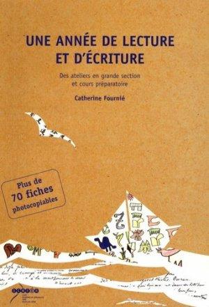 Une année de lecture et d'écriture - Canopé - CRDP de Versailles - 9782866374808 -