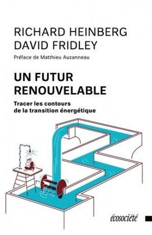 Un futur renouvelable - ecosociete (canada) - 9782897195335 -