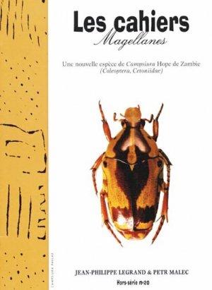 Une nouvelle espèce de Campsiura Hope de Zambie  Hors-serie - magellanes - 9782911545955 -