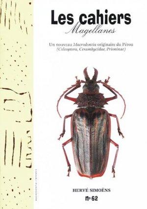 Un nouveau Macrodontia originaire du Pérou - magellanes - 9782911545993 -