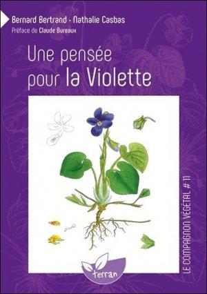Une pensée pour la violette - de terran - 9782913288140 -
