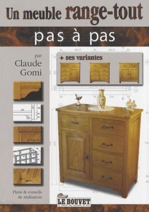 Un meuble range-tout - le bouvet - 9782914649216 -