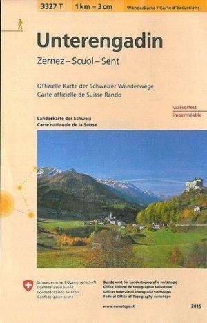 Unterengadinindechirable et resistante eau - Bundesamt Fur Landestopographi - 9783302333274 -