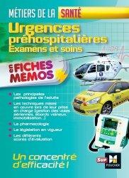 Urgences préhospitalières - Examens et soins - Métiers de la santé - foucher - 9782216134113 -
