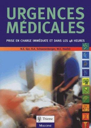 Urgences médicales - maloine - 9782224028008