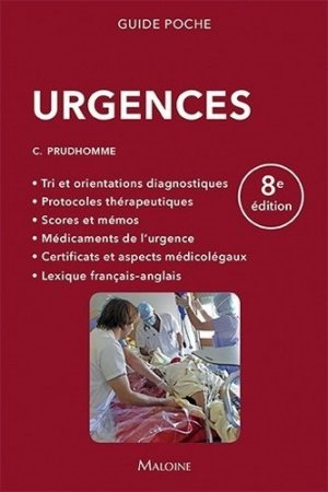 Urgences - maloine - 9782224034979 -