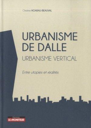 Urbanisme de dalle - le moniteur - 9782281142099 -