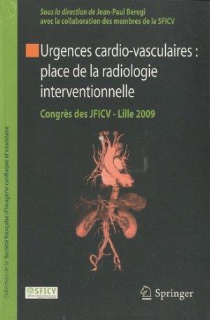 Urgences cardio-vasculaires : place de la radiologie interventionnelle - springer verlag - 9782287991653 -