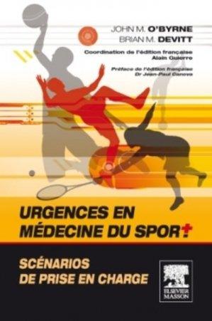 Urgences en médecine du sport - elsevier / masson - 9782294712869 -