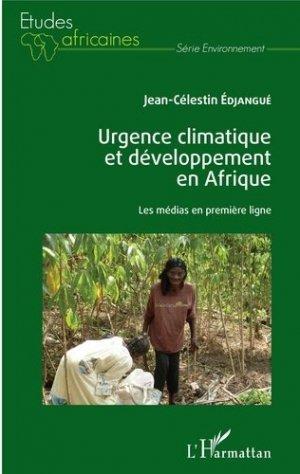 Urgence climatique et développement en Afrique - l'harmattan - 9782343193465 -
