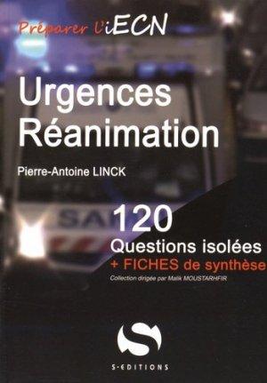 Urgences Réanimation - s editions - 9782356401441 -