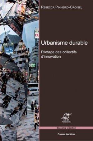 Urbanisme durable - presses des mines - 9782356710703 -