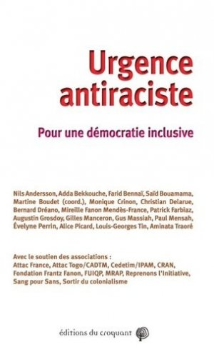 Urgence antiraciste - Editions du Croquant - 9782365121125 -