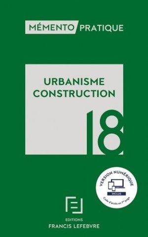 Urbanisme Construction  2018 - francis lefebvre - 9782368933398 -