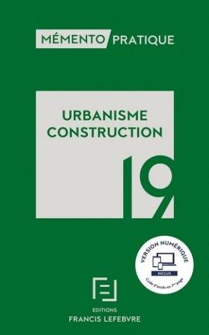 Urbanisme construction - Francis Lefebvre - 9782368934203 -