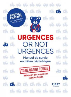 Urgences or not urgences - first editions - 9782412064566 -