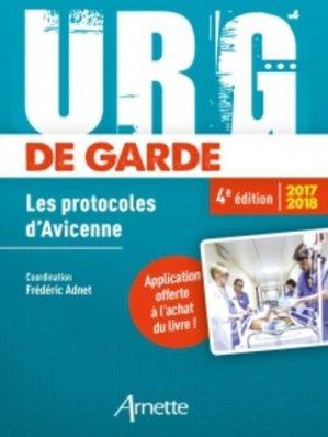 Urg' de garde 2017 - 2018-arnette-9782718414126