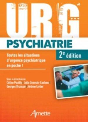 Urg'psychiatrie - arnette - 9782718414416 -