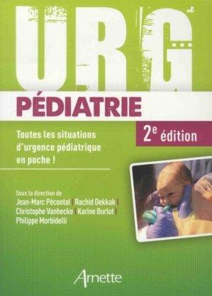 Urg'pédiatrie - arnette - 9782718414454 -