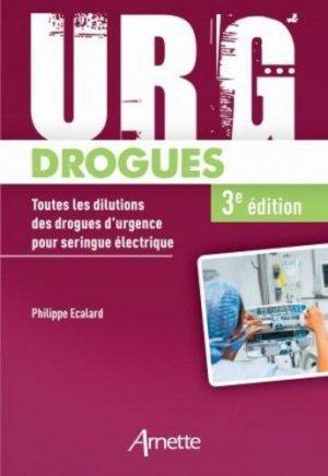Urg' drogues - arnette - 9782718415475 -
