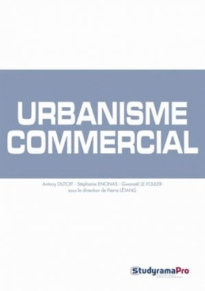 Urbanisme commercial - studyrama  - 9782759016044 -