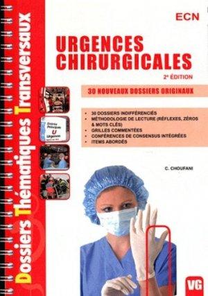 Urgences chirurgicales - vernazobres grego - 9782818303603