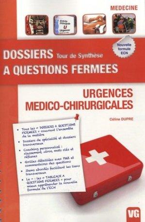 Urgences Médico-Chirurgicales - vernazobres grego - 9782818304679 -