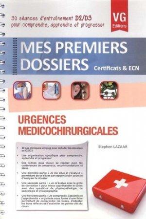 Urgences médicochirurgicales - vernazobres grego - 9782818307144 -
