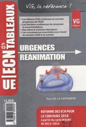Urgence Réanimation - vernazobres grego - 9782818309902 -