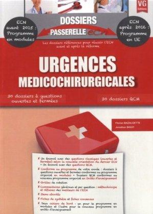 Urgences médicochirurgicales - vernazobres grego - 9782818310922 -