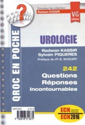 Urologie - vernazobres grego - 9782818311875