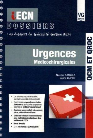 Urgences médicochirurgicales - vernazobres grego - 9782818313480 -