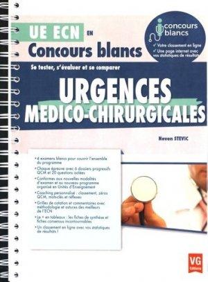 Urgences médico-chirurgicales - vernazobres grego - 9782818314548 -