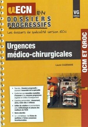 Urgences médico-chirurgicales - vernazobres grego - 9782818314807 -