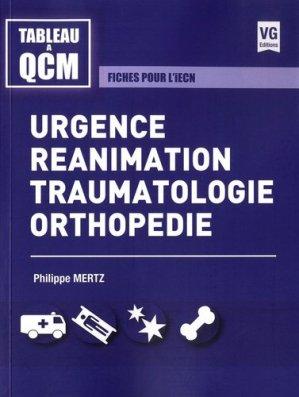 Urgences, réanimation, traumatologie, orthopédie - vernazobres grego - 9782818316610 -