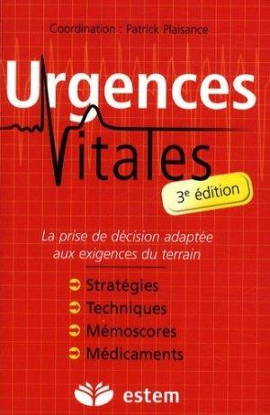 Urgences vitales - estem - 9782843714320 -