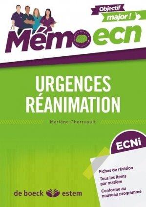Urgences-réanimation - estem - 9782843717741 -