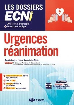 Urgences-réanimation - estem - 9782843718243 -
