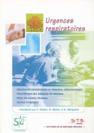 Urgences respiratoires - datebe - 9782915968033 -