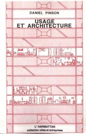 Usage et architecture - l'harmattan - 9782738418005 -