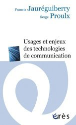Usagers et enjeux des technologies de communication - Erès - 9782749214405 -