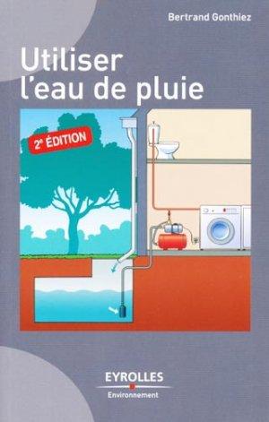Utiliser l'eau de pluie - eyrolles - 9782212126792 -