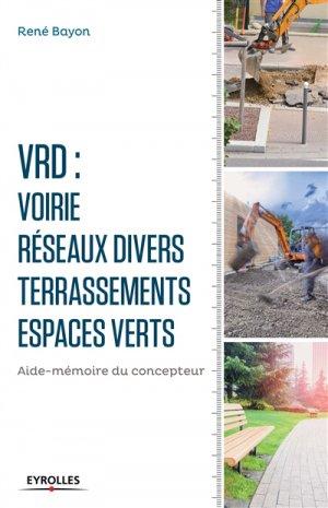 V.R.D Voirie Réseaux Divers - eyrolles - 9782212141863 -