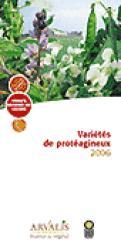 Variétés de protéagineux 2006 - arvalis / prolea - 9782864927600 -