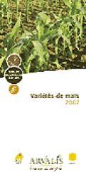 Variétés de maïs 2007 - arvalis - 9782864928164 -