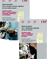 Vaccination animale (2 volumes) - oie - 9789290446873 -