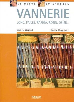Vannerie - eyrolles - 9782212127034 -