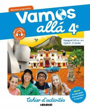 Vamos allá 4e LV2 : Cahier d'Activités - didier - 9782278088126 -