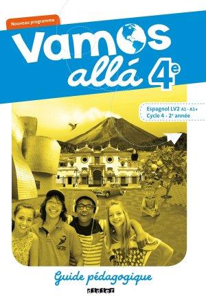Vamos allá 4e LV2 : Guide Pédagogique - didier - 9782278088201 -