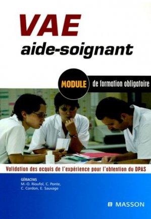 VAE aide-soignant - elsevier / masson - 9782294061271 -
